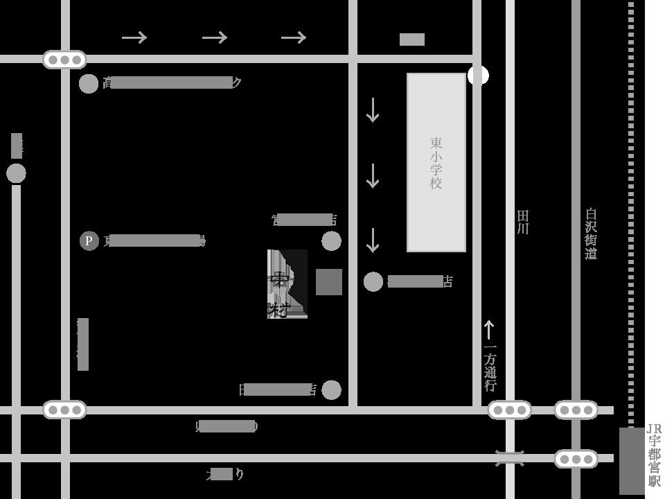 中村周辺地図