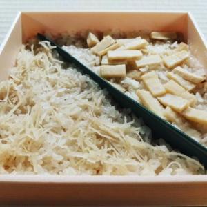 土鍋で炊く炊き込み蟹飯・筍ご飯